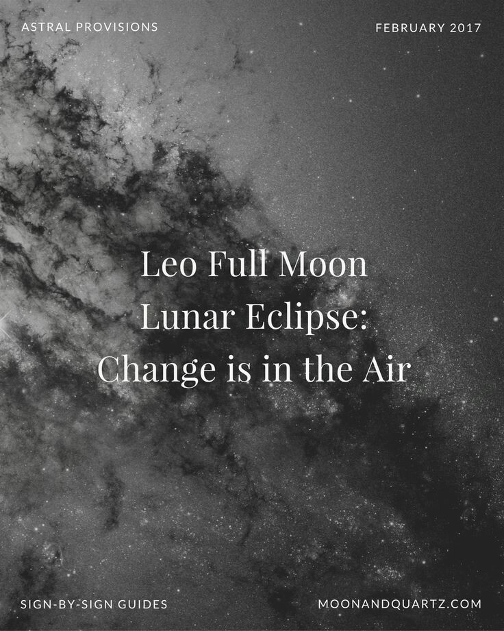 Full Moon – The Tea Witch Blog